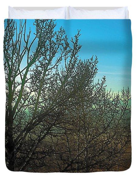 Prairie Autumn 7 Duvet Cover by Terry Reynoldson
