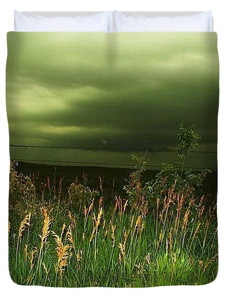 Prairie Clouds Duvet Cover
