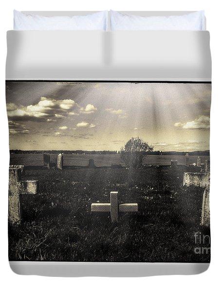 Prairie Graves Duvet Cover