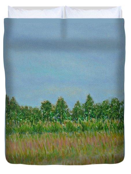 Prairie Morning Light Duvet Cover