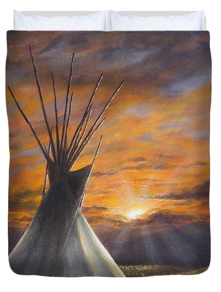 Prairie Sunset Duvet Cover