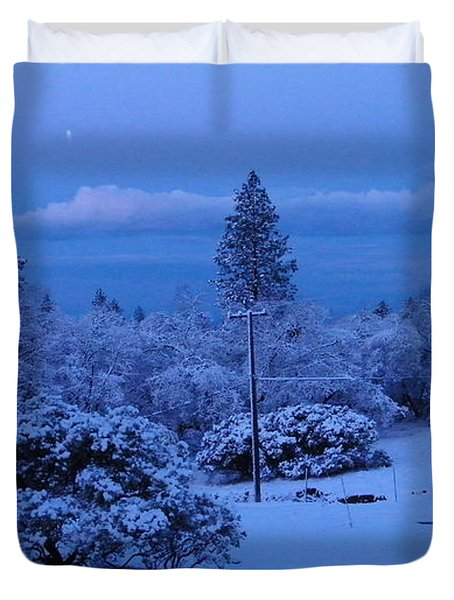 Pre-dawn Light Duvet Cover