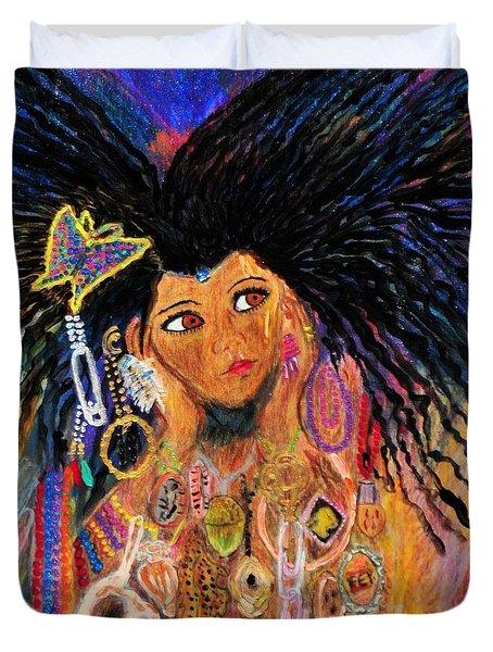 Precious Fairy Child Duvet Cover