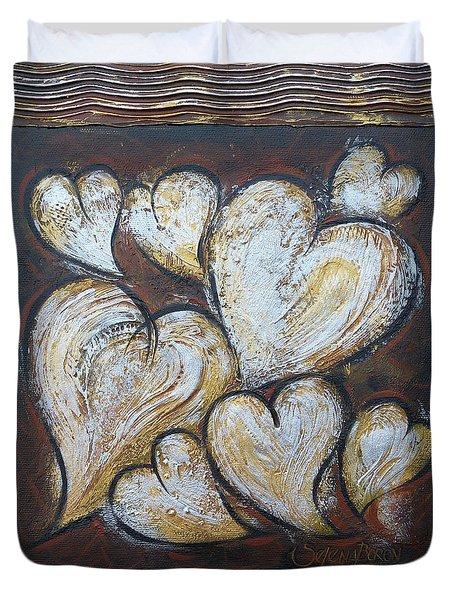 Precious Hearts 301110 Duvet Cover by Selena Boron