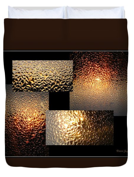 Duvet Cover featuring the photograph Precious Light Two by Joyce Dickens
