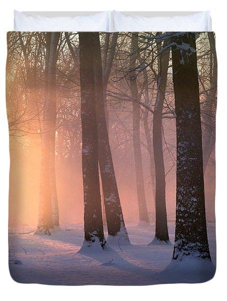 Presence Of Light Duvet Cover