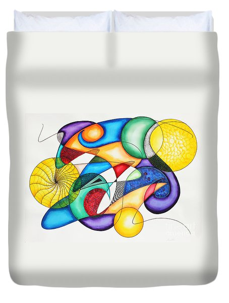 Present Duvet Cover by Shannan Peters