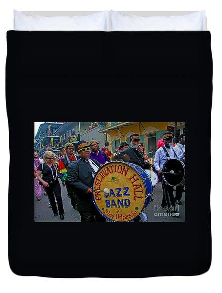 New Orleans Jazz Band  Duvet Cover