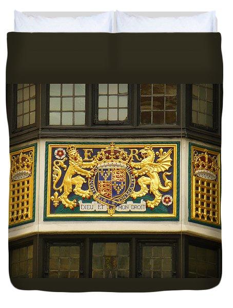 Preserving The Monarchy Duvet Cover