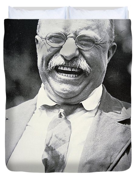 President Theodore Roosevelt Duvet Cover by American Photographer