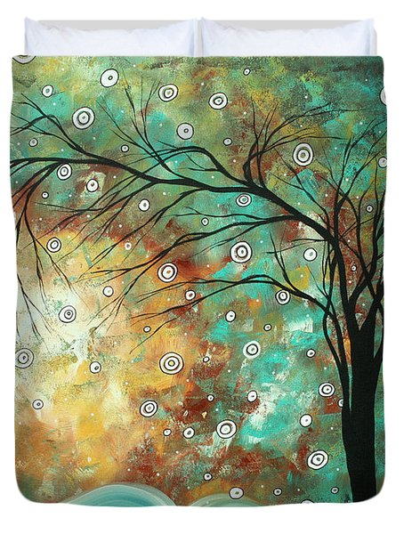 Pretty As A Picture By Madart Duvet Cover by Megan Duncanson