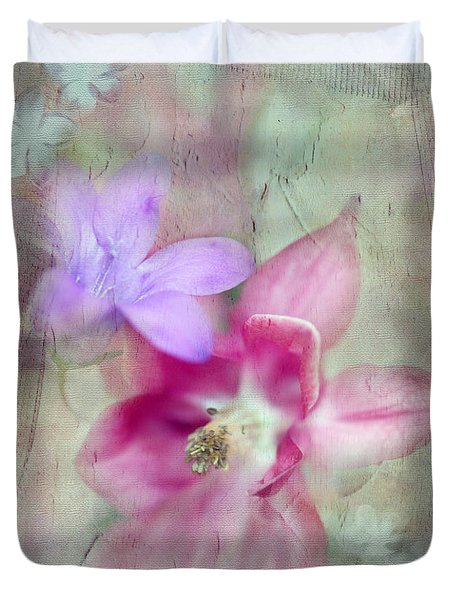 Pretty Flowers Duvet Cover by Annie Snel