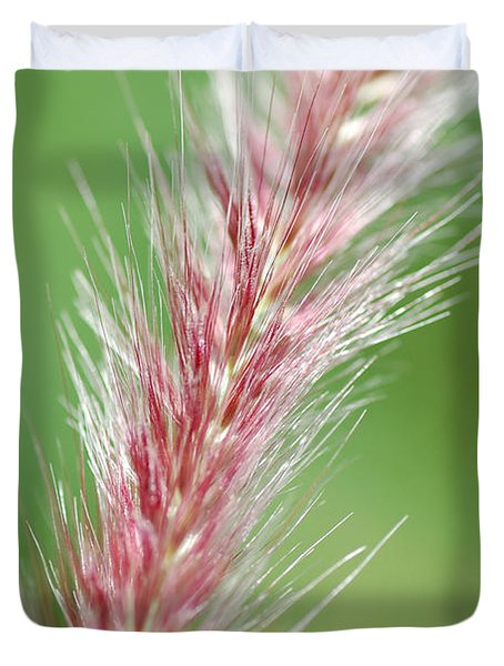 Duvet Cover featuring the photograph Pretty In Pink by Bianca Nadeau