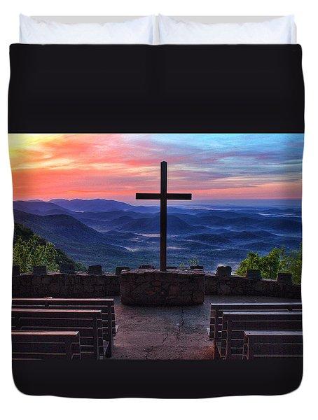 Pretty Place Chapel Sunrise Duvet Cover