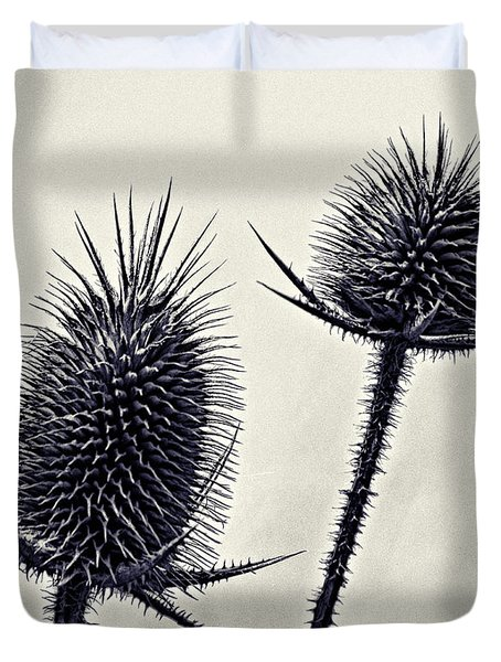 Prickly Duvet Cover by John Hansen