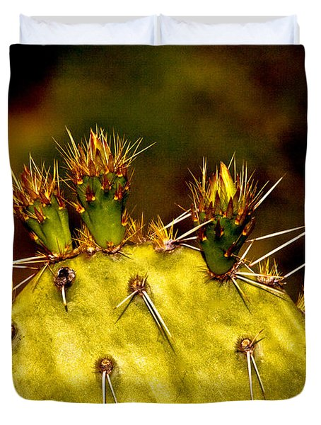 Prickly Pear Spring Duvet Cover