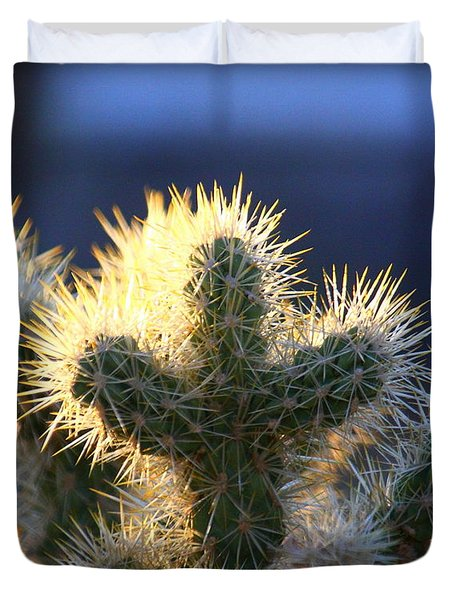 Prickly Sunset Duvet Cover