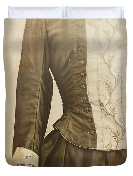Prim And Proper Duvet Cover by Amy Weiss