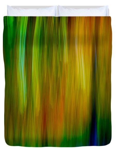 Primary Rainbow Duvet Cover