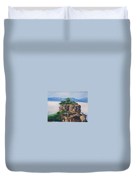 Prince Henry Cliff Australia Duvet Cover