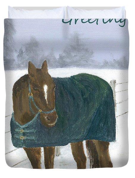 Prince Seasons Greetings Duvet Cover