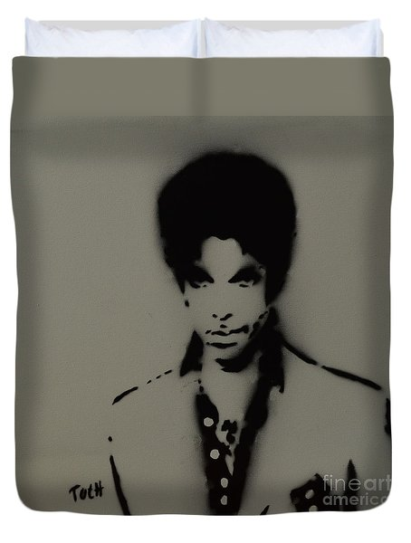 Prince Spray Art Duvet Cover