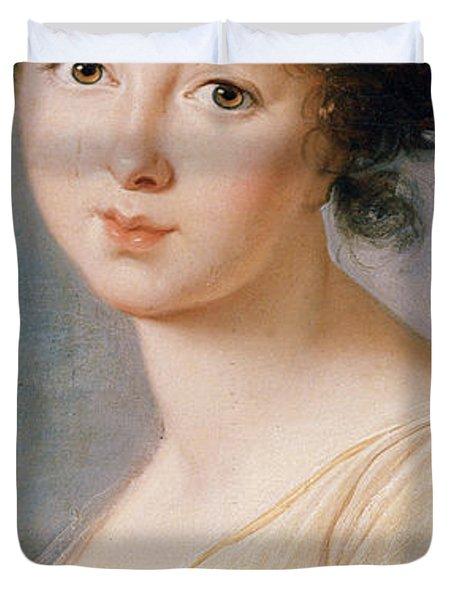 Princess Aniela Angelique Czartoryska Nee Radziwill Duvet Cover