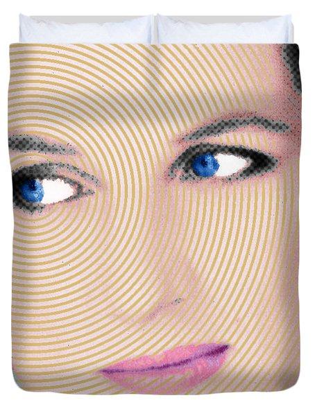 Princess Lady Diana Duvet Cover by Tony Rubino