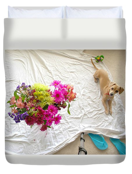 Princess On Assignment Duvet Cover