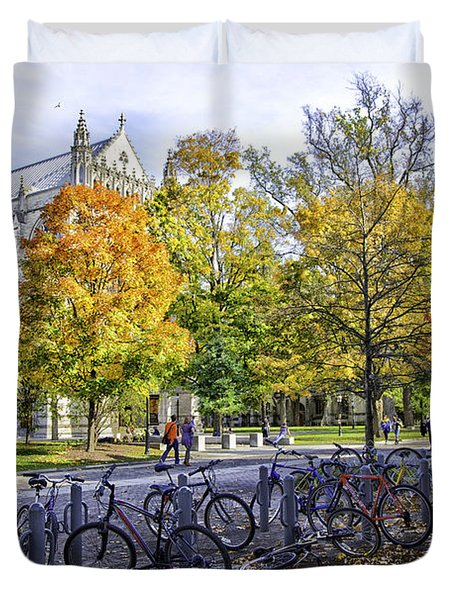Princeton University Campus Duvet Cover