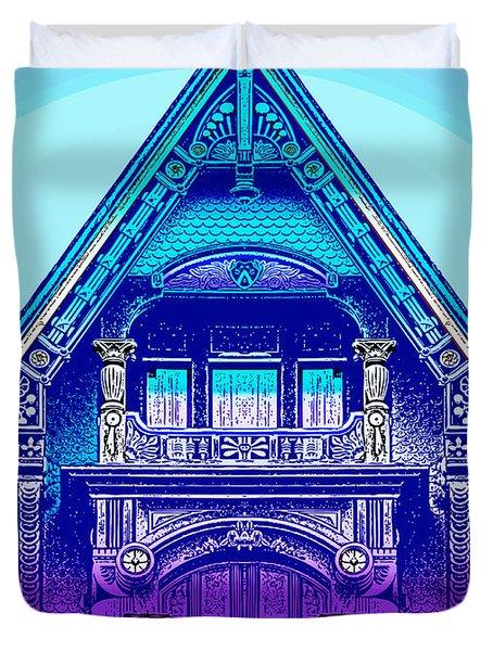 Victorian Gable Duvet Cover