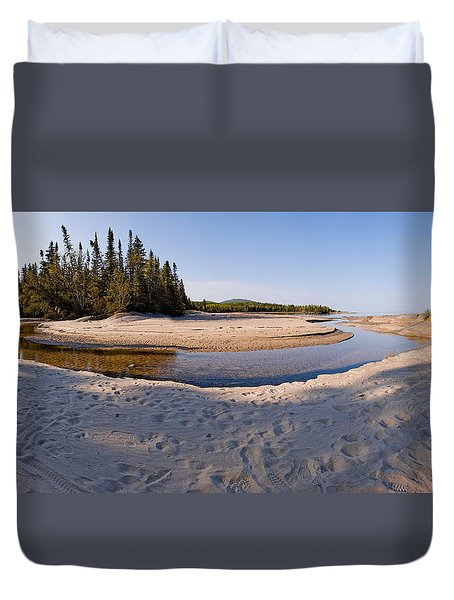 Prisoners Cove   Duvet Cover