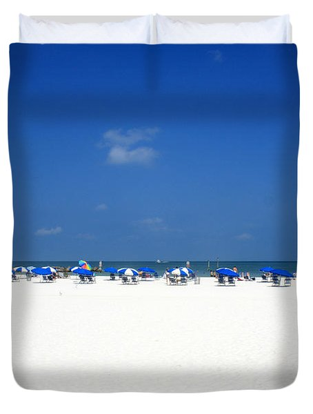Pristine Clearwater Duvet Cover