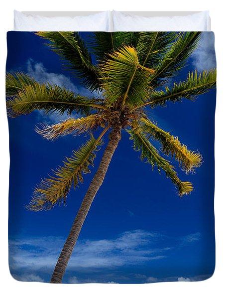 Pristine Tropical Beach  Duvet Cover