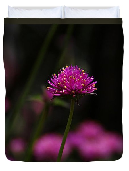 Pretty In Pink Duvet Cover by Yvonne Wright