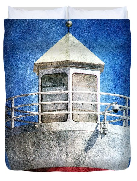 Private Lighthouse Duvet Cover