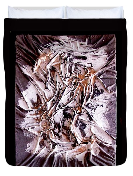 Profile Abstracted Duvet Cover