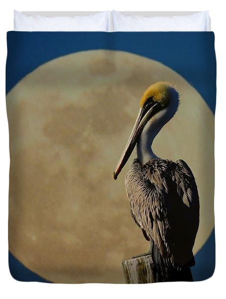 Profile Pic Duvet Cover by Laura Ragland