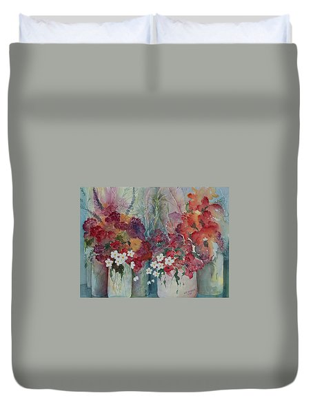 Profusion Duvet Cover by Lee Beuther