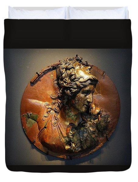 Promachos Athena Duvet Cover
