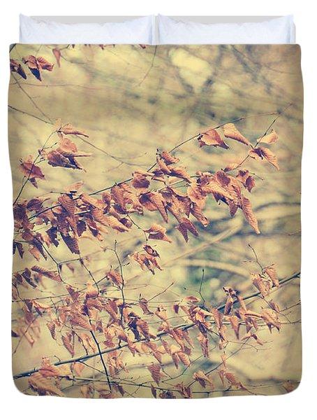 Promise Duvet Cover by Taylan Apukovska