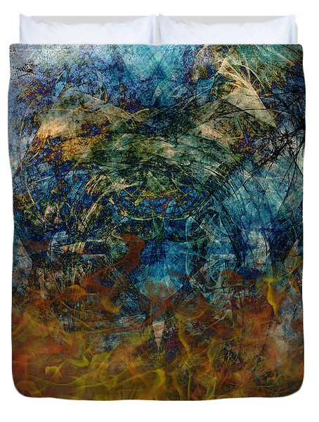 Prophecy Duvet Cover by Christopher Gaston