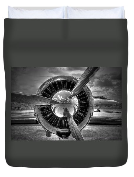 Props And Jet Duvet Cover