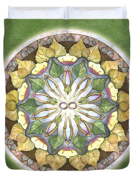 Prosperity Mandala Duvet Cover