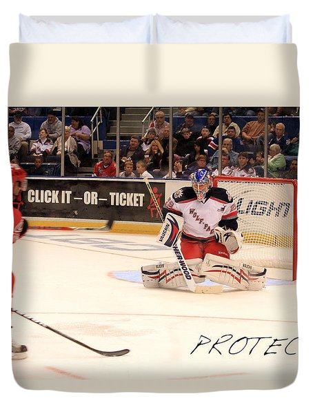 Protect Duvet Cover by Karol Livote