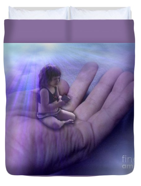 Protect Their Souls Duvet Cover by Tlynn Brentnall