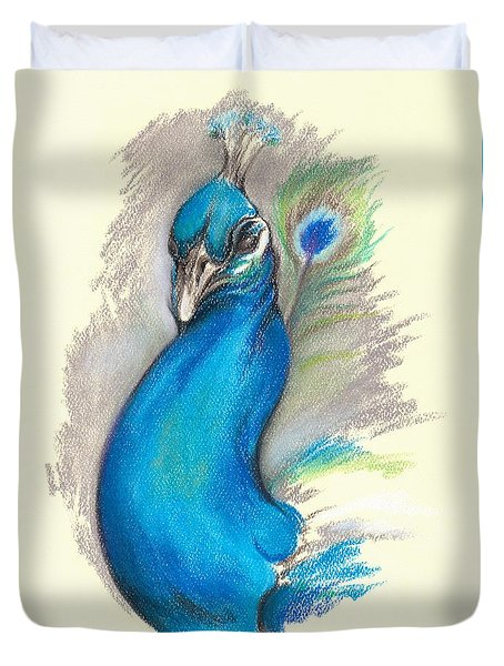 Proud Peacock Duvet Cover