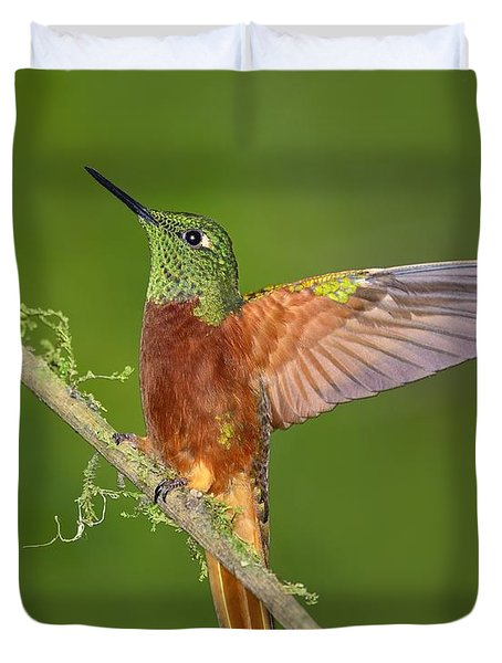 Proud Duvet Cover by Tony Beck