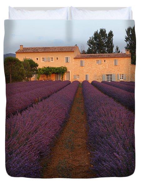 Provencal Villa  Duvet Cover