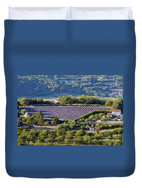 Provence Farmland Duvet Cover by Bob Phillips